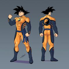 """Here is the character sheet for Goku Kent in """"What if Goku was in DC"""" by Join the Party and drop some fanart for this amazing What If, cheers! Dragon Ball Gt, Character Art, Character Design, Character Sheet, Super Anime, Spiderman Art, Anime Crossover, Fanart, Anime Characters"""