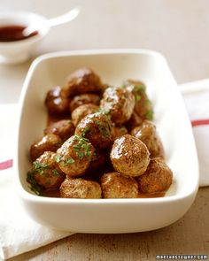 Swedish Meatballs - Martha Stewart Recipes