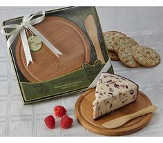 """""""La Fromagerie"""" Cheese Board & Spreader at Elegant Gift Gallery. We're your number one source for cheese board favors and wedding favors. Wedding Party Favors, Bridal Shower Favors, Wedding Ideas, Wedding Decorations, Anniversary Favors, Cheese Shop, Cheese Party, Party Guests, Event Design"""