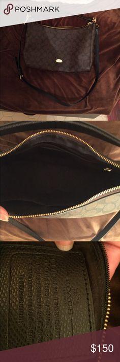 Coach bag Authentic coach bag. Brown coach bag. Coach Bags Shoulder Bags