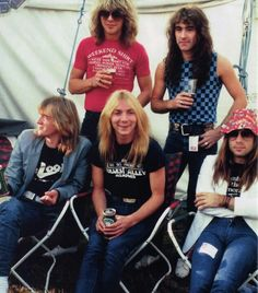 Iron Maiden. Okay, let's all agree that Bruce is a real hottie in this badass floppy hat,and all of them should own one. At least one.