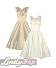 Swing dress swings and prom on pinterest for Lindy bop wedding dress