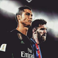 Get ready for El Clasico  Ronaldo and Messi