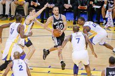 San Antonio Spurs Manu Ginobili
