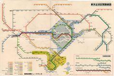 Twitter Subway Map, Public Transport, Planer, Trains, Maps, Transportation, Japanese, Twitter, Logos