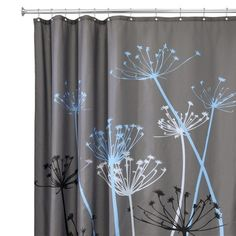 InterDesign Thistle Shower Curtains : Target @golddeer - if you wnat to go graphic [North]