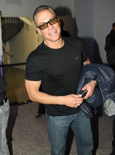 Jean-Claude Van Damme Photos - Jean-Claude Van Damme At The Radio ...