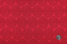 FP19707C Fuchsia Polka Dots Brocade  via @Mood Fabrics
