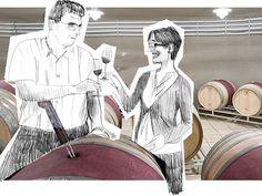 Seedamm Plaza zu Gast auf der Domaine Lupier in Navarra Wine