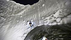 Cientistas revelam fotos impressionantes de dentro do buraco da Sibéria