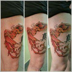 Fenice tattoo