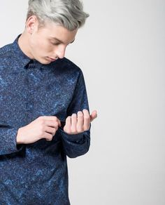 d25c3e12 Texture Print Shirt - Local Pattern - 1 Diseño De Impresión, Textura,  Camisas Estampadas