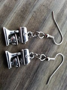 Kitchen Mixer Earrings Kitchen Aid Food Mixer Earrings Funky Country Bakery Miniature Sensitive Ears by RukaDoll on Etsy https://www.etsy.com/listing/172253907/kitchen-mixer-earrings-kitchen-aid-food