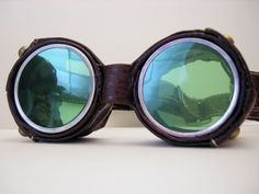 Another take on steampunk goggles