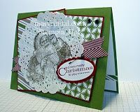{scrap and stamp with mary}: Mojo Monday - Christmas Cards with Santa's List