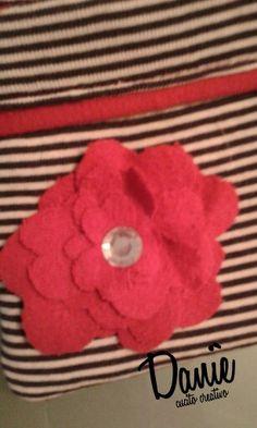 Daniè CucitoCreativo. Necessaire red Flower