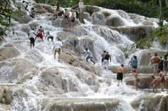 Book your adventure - Delight in an amazing afternoon tour that includes Dunn's River Falls, Luminous Lagoon and a brief stop at Columbus Park in Discovery Bay. A lunch stop will also be made (additional cost). Your friendly, professional tour guide will meet you at your Montego Bay or Grand Palladium hotel where you will board a clean air-conditioned bus headed to Ocho Rios for Dunn's River Falls. Along the way you