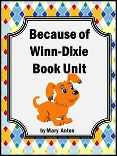 This 14 page packet has two-three comprehension questions for each chapter of this student favorite book, Because of Winn-Dixie Answers are included at the end of the packet. It could be used for an entire class unit, individual book reports, guided reading questions, summer reading check points, and more!