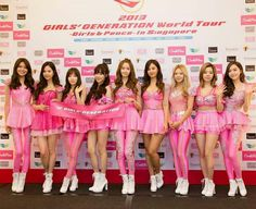 SNSD - 2nd Tour Girls & Peace In Singapore 2013 Press Conference