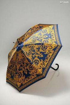 Versace Gold and Blue Umbrella