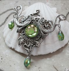 SOUL of the SEA romantic vintage fantasy by TheVictorianGarden. $56.00, via Etsy.