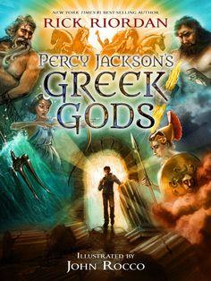 Percy Jackson's Greek Gods by Rick Riordan #RickRiordan #books #sciencefiction