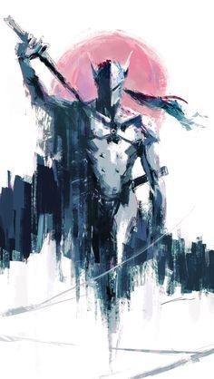 Genji (Overwatch) by Alex-Chow Overwatch Comic, Overwatch Genji, Overwatch Fan Art, Epic Art, Amazing Art, Genji Wallpaper, Character Art, Character Design, Genji Shimada