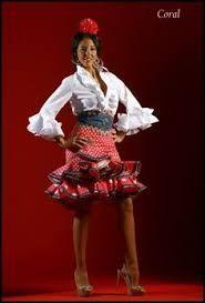 Resultado de imagen de faldas cortas flamencas