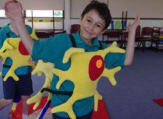 Preschool Body Theme, Human Body, Ronald Mcdonald, Dinosaur Stuffed Animal, Costumes, Toys, Character, Animals, Neurons