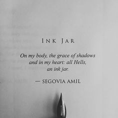"""Ink Jar"" written by Segovia Amil"