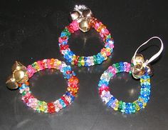 Kids Christmas Craft: Jingle Bracelet/Ornament - one for even very young children with help