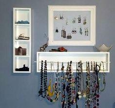 Jewelry Organizer DIY | A World of Whimsy
