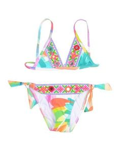 PATÉ DE SABLE Girl's' Bikini Green 8 years
