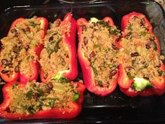 Stuff me some peppers! | Simply Healthy NikkiSimply Healthy Nikki