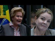 Ana Amélia expõe como a própria Dilma se declarou incapaz e deixa Gleisi...