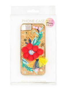 SKINNYDIP スマホケース・テックアクセサリー SKINNYDIP★ iPhoneケース★SCANDIコルク刺繍のiPhone Case!!(3)