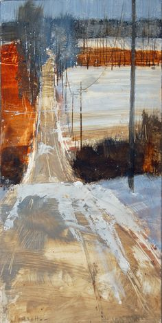 oil on paper available at Wall Space Gallery, Ottawa