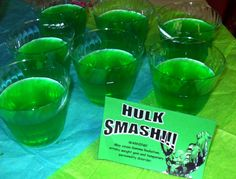 "Tutus and Taffeta: Superhero Party Food-""Hulk Smash!"""