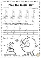A set of 20 winter themed music worksheets is created to help your students learn to trace, copy, color and draw symbols, notes and rests commonly used in music. Practice in copying them onto their positions on the staff is provided in large size. Music Theory Worksheets, Tracing Worksheets, Free Printable Worksheets, Violin Lessons, Music Lessons, Music Class, Music Education, Piano Teaching, Treble Clef