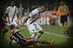 Er Ninja in azione contro il Bayern Monaco
