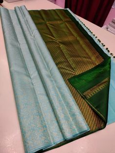 Ping me in 9171814428 for price details Pure kanchipuram silk sarees handwoven with 2 g pure jari without border brocade pattern Pure Silk Sarees, Hand Weaving, Pure Products, Pattern, Decor, Hand Knitting, Decoration, Patterns, Decorating