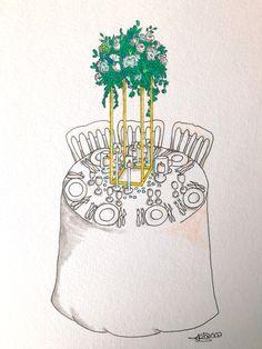 Croquis by Cherry Wedding #croquis #croquisdujour #weddingdesign #weddingideas #weddingcenterpieceideas #weddingcenterpiece Wedding Centerpieces, Wedding Designs, Weddingideas, Wedding Planner, Cherry, Paris, Ile De France, Mediterranean Wedding, Centerpiece Wedding
