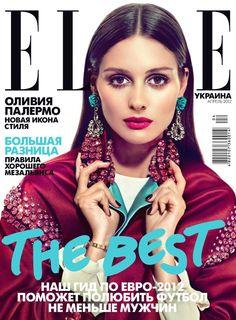 Elle Ukraine April 2012 Cover