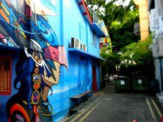 Haji Lane - Little India, Singapore