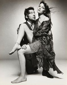 "twixnmix: "" Serge Gainsbourg and Jane Birkin photographed by Terry O'Neill at the Sunday Times Studio in London, "" Serge Gainsbourg, Gainsbourg Birkin, Charlotte Gainsbourg, Terry O Neill, Lou Douillon, Style Jane Birkin, Francoise Hardy, Provocateur, Cinema"