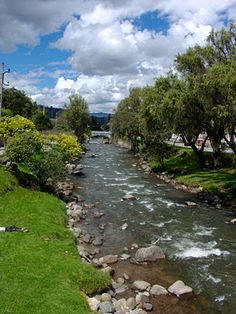 Cuenca, Ecuador - the boys would play here when we would visit our good friends… Latin America, South America, Cuenca Ecuador, Equador, Most Beautiful Cities, Nature Images, Natural Wonders, Rivers, Lakes