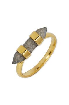 Argento Vivo Raw Stone Bar Ring available at #Nordstrom