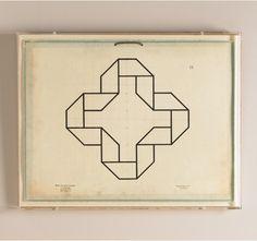 Jean Baptiste Geometrics #3 Artwork from @DwellStudio