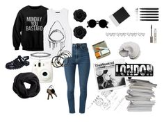 swag by sissigiava on Polyvore featuring Monday, Forever 21, Yves Saint Laurent, JuJu, Scosha, Miss Selfridge, H&M, Retrò, Topshop and WALL