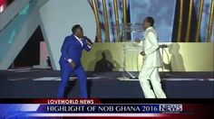 Eben's Victory Song with Pastor Chris at Night of Bliss Ghana